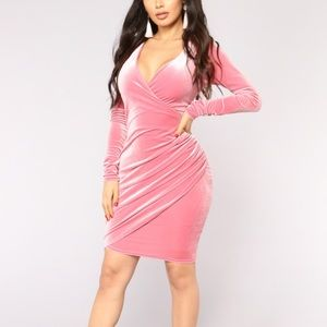 Meet me westside dress (mauve)